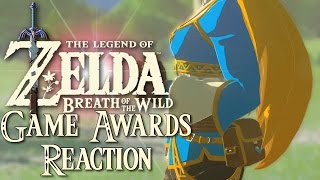 Download Legend of Zelda Breath of The Wild Reaction (Game Awards 2016) Video