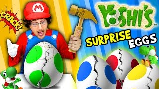 Download YOSHI'S SURPRISE EGGS! Trouble Maker Toys!!! (FGTEEV Skit / Unboxing) Video