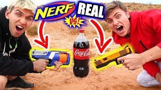 Download NERF EXPLODING SODA!! Video