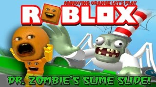 Download Annoying Orange Plays - ROBLOX: Dr. Zombie's Slime Slide Video