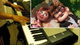 Download Carl and Ellie- Pixar's ″Up″ Theme (Piano cover) Video