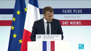Download REPLAY - Emmanuel Macron présente son plan anti-pauvreté Video
