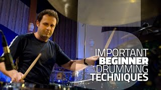 Download 5 Beginner Drumming Techniques You Need To Know - Drum Lesson Video