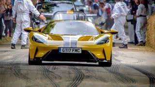 Download Andy Priaulx wows the crowds with the Ford GT at Goodwood Video