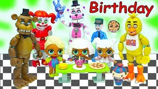 Download LOL Surprise Wave 2 Big Sister Blind Bag Ball Birthday Party with Five Nights At Freddy's Video