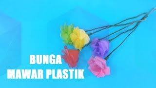 Download Ide Kreatif Bunga Mawar dari Kantong Plastik Kresek | Trik Idetrik Video