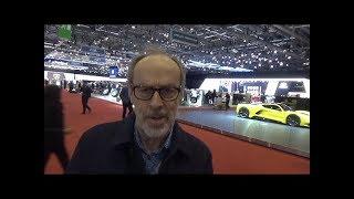 Download Geneva Motorshow 2018 walk around part1. Pagani, Lambo, Porsche, Aston Video
