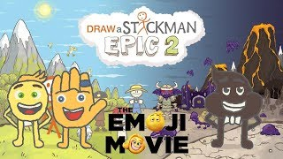 Download THE EMOJI MOVIE Draw a Stickman Epic 2 Gameplay - Gene and Hi-5 Save Poop - Amazing Emoji Adventure Video