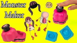 Download Monster High Maker Machine Create A Draculaura Mini Doll Craft Toy Playset - Cookieswirlc Video Video