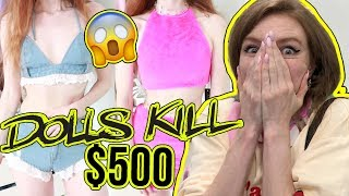 Download $500 DOLLS KILL HAUL AND TRY ON!!!! SUMMER 2018 Video