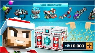 Download I SPENT 10,000 KEYS ON SUPER CHEST CRATE OPENINGS!! AND UNLOCKED SO MANY THINGS | Pixel Gun 3D Video