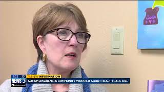 Download Autism awareness community worried about health care bill Video