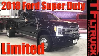 Download New 2018 Ford Super Duty Limited Luxury Trucks Debut in Texas Video