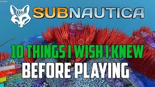 Download 10 Things I Wish I Knew Before Playing Subnautica | Subnautica Quick Start Guide | Subnautica Tips Video
