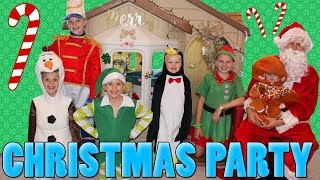 Download Kids Christmas Costume Party Video