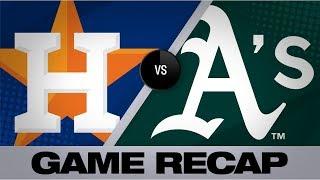 Download Bregman, Greinke hit milestones in win | Astros-A's Game Highlights 8/18/19 Video