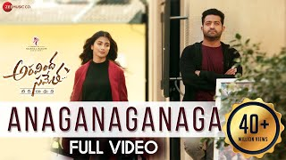 Download Anaganaganaga - Full Video | Aravindha Sametha | Jr. NTR, Pooja Hegde | Thaman S Video