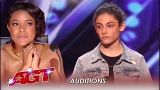 Download Benicio Bryant: Judges Did NOT Expect This Shy Boy's Voice | America's Got Talent 2019 Video