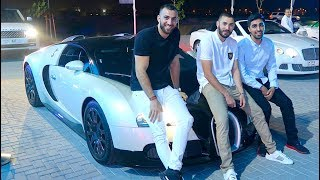 Download Hanging out with MESSI and BENZEMA - Real Madrid FOOTBALLER !!! Video
