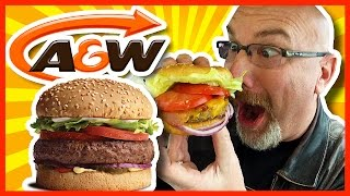 Download A&W Uncle Burger & Onion Ring Upgrade with Coupons Plus Bonus Food Video