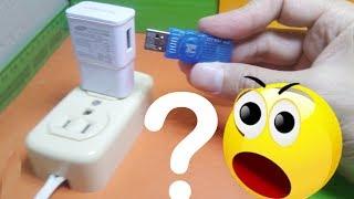 Download Mira que pasa si conecto una memoria USB a un cargador de celular! Video