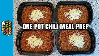 Download How to Meal Prep - Ep. 60 - ONE POT CHILI ($3/Meal) Video