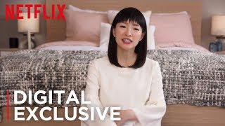 Download How To Fold Fitted Sheets | Tidying Up with Marie Kondo | Netflix Video