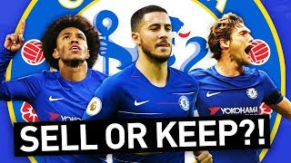 Download WHO WOULD I KEEP & SELL IN THE CHELSEA SQUAD?! Video