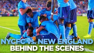 Download BEHIND THE SCENES | NYCFC vs. New England | 08.20.17 Video