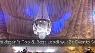 Download Walima, Barat Wedding's Setups designed by Best Pakistani Weddings Planners A2Z Events Solutions Video