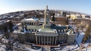Download Penn State University Park winter tour from above Video