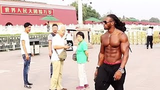Download When a FITNESS MODEL Goes Shirtless in PUBLIC Video