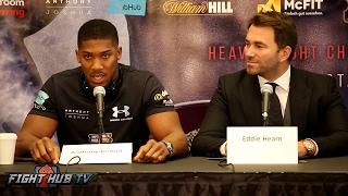 Download Anthony Joshua vs. Wladimir Klitschko Full New York Press Conference Video Video