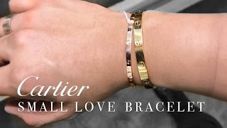 Download THE NEW ″SMALL″ CARTIER LOVE BRACELET! 2017 Video
