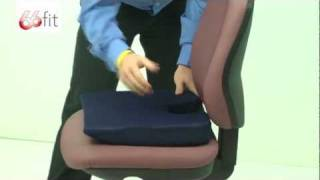 Download Coccyx Cushion - 66fit Video
