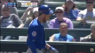 Download Kris Bryant hit in Head with Pitch Video