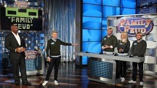 Download Ellen Plays 'Family Feud' Video