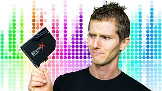 Download Are Sound Cards Still Relevant? Sound BlasterX AE-5 Video