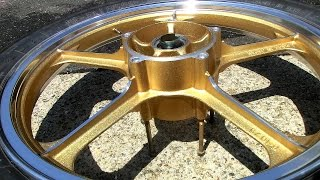 Download How to Paint Motorcycle Wheels & Polish Rims Video