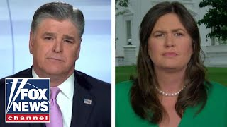 Download Sarah Sanders: Trump is way out of Jim Acosta's league Video
