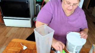 Download Making Powdered Laundry Soap. Video