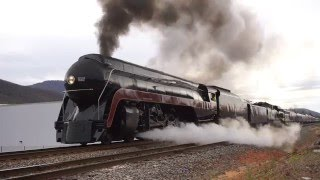 Download Norfolk and Western Class J 611 Steam Locomotive Video