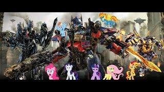 Download Ponies watch Transformers 3 - Final Battle Video