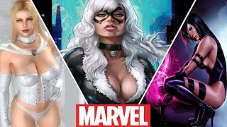 Download Marvel's Hottest Girls From Cartoons (2019) Video