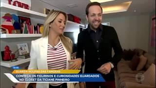 Download Tici Pinheiro revela todo o segredo de seu estilo para Gustavo Sarti Video