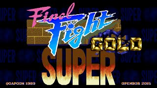 Download Super Final Fight Gold OPENBOR 720P HD Playthrough with CODY Video