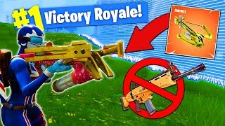 Download The CROSSBOW ONLY CHALLENGE In Fortnite Battle Royale! Video