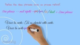 Download Comment utiliser les pronoms relatifs ? Video