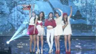 Download 【1080P】Krystal,Sulli & Suzy(miss A)& Jiyoung(KARA)& Sohyun- Winter Songs (21 Dec,2012) Video