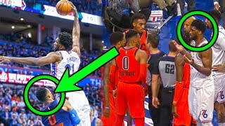 Download What You DON'T Know About The Westbrook & Embiid NBA Rivalry (Ft. Fouls, Stares, & Waves) Video
